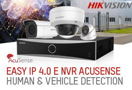 Easy IP 4.0 e NVR Acusense