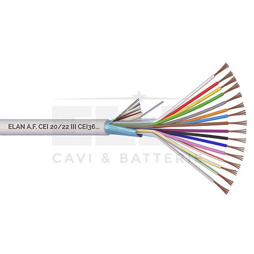 CAVO ALLARME SCHERMATO 16x0,22 PVC 100MT</br>