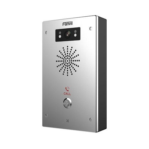 1 Pulsante (alta affidabilità per gli utilizzi esterni)</br>2 Account SIP, Audio e Video HD (720P), IP65 - IK10, PoE.</br>2 Contatti Relè</br>