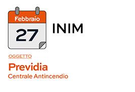 INIM - Corso del 27-02-2019