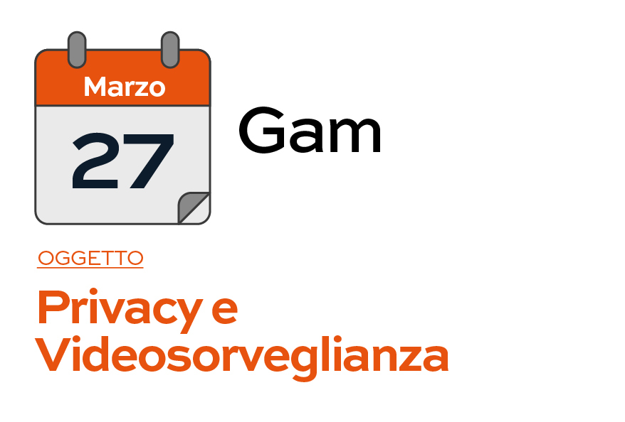 GAM - Corso del 27-03-2019