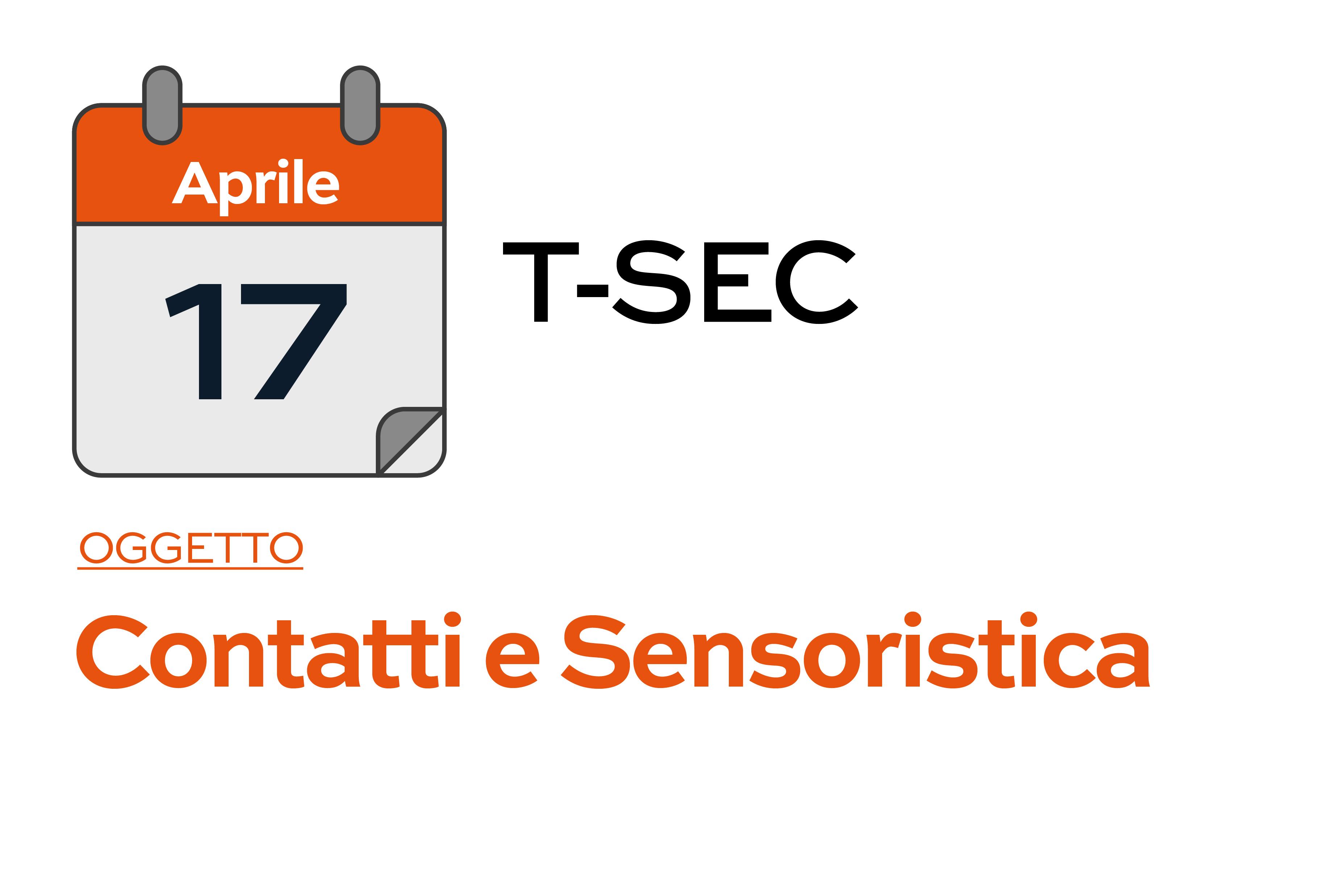 TSEC - Corso del 17-04-2019