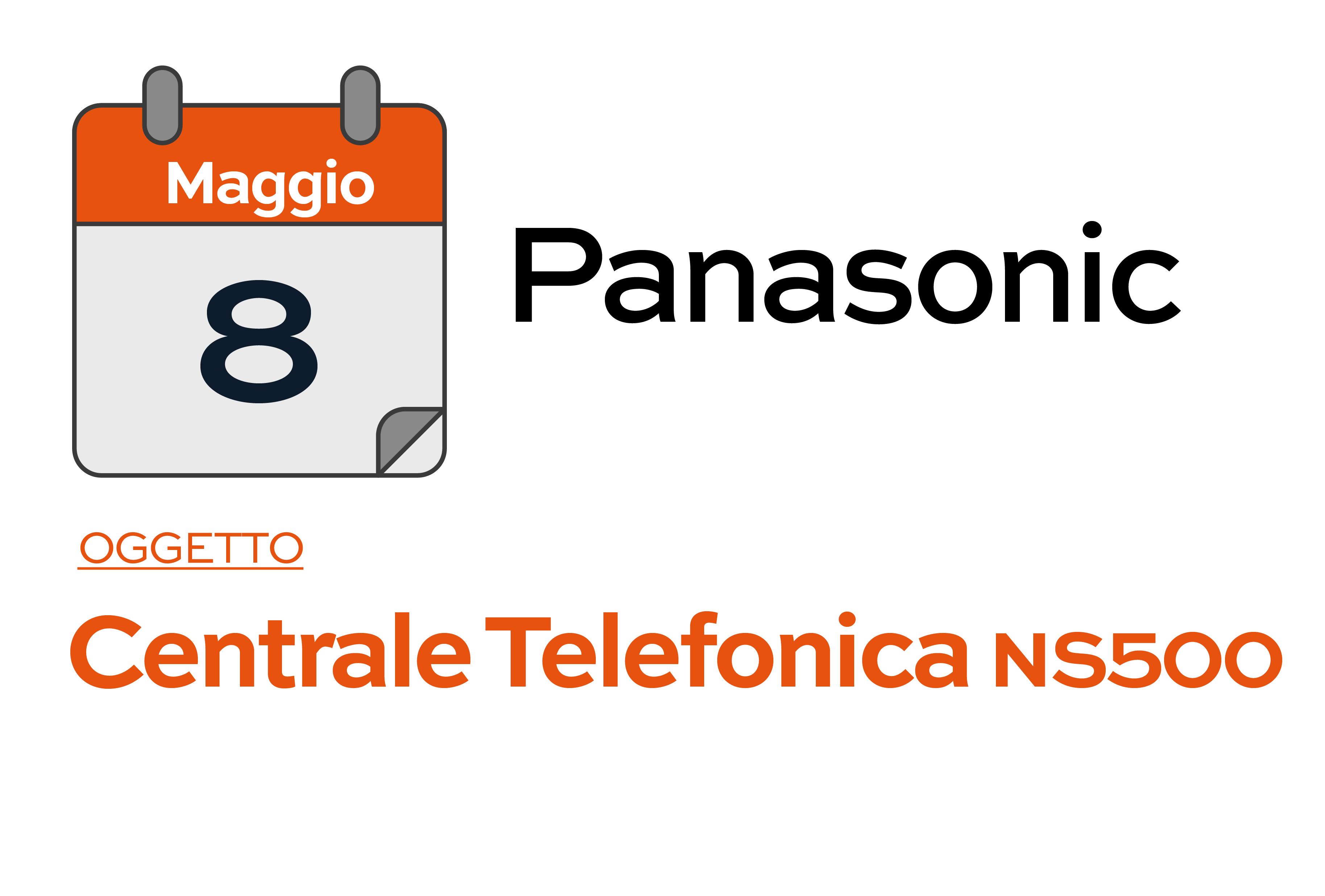 PANASONIC - Corso del 08-05-2019